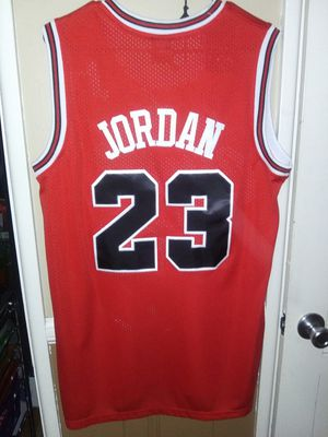 New!!! Mens Large Michael Jordan Chicago Bulls Jersey New Stiched $45. Pick up in West Covina for Sale in West Covina, CA