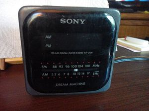 Sony am fm alarm clock radio for Sale in Jamestown, NC