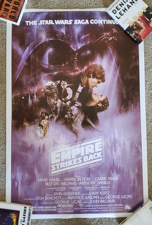 Star Wars: The Empire Strikes Back Poster for Sale in Alexandria, VA