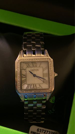 Croton ladies diamond watch new retail $1500 for Sale in Arlington, TX