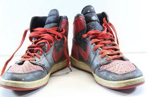 Original 1985 Air Jordan 1 Black & Red Size 9.5 Nike Air OG Bred Banned Bulls for Sale in Lakeland, FL