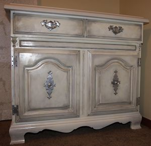 #Upcycled antique dresser#gorgeous solid wood dresser with granite top ❤️ for Sale in Bothell, WA