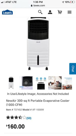 Brand new never used Portable air conditioner 85$ for Sale in Buffalo, NY