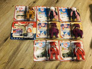 Collectible ty toys ( from 1990's ) - all new in box - $5 each for Sale in Glendale, AZ