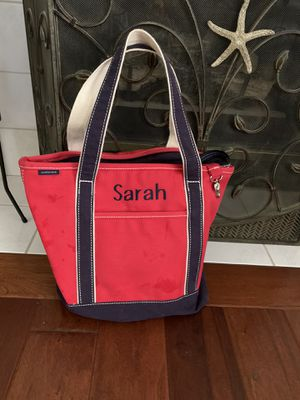 Lands End new canvas beach bag ,sleep overs, or school for Sale in Lititz, PA
