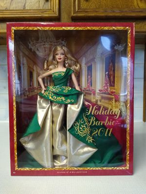 Holiday Barbie collectors edition Barbie doll. 2011. New in box for Sale in Richardson, TX