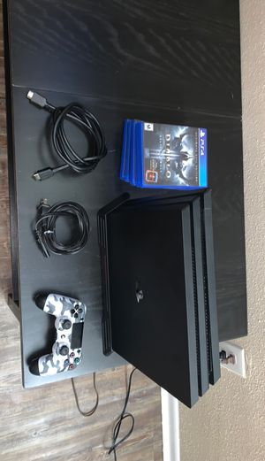 PS4 Pro 2TB! w/ More.. for Sale in Houston, TX