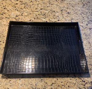 Serving Tray (black) for Sale in San Bernardino, CA