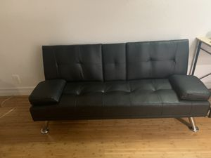 Black Sofa/ bed for Sale in Pasadena, CA