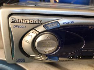 Panasonic Car stereo /disc player for Sale in Covina, CA