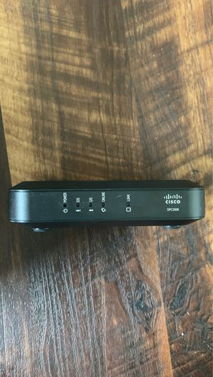 Cisco Cable Modem DPC3008, Compatible with Xfinity/Comcast, Spectrum, ATT, TWC, Cox, and Most Internet Providers, DOCSIS 3.0 Modem for Sale in Mukilteo, WA