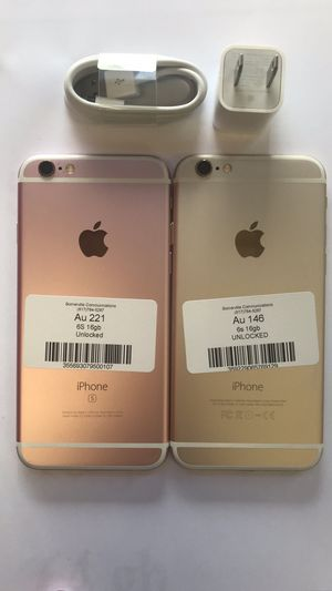 Factory Unlocked Iphone 6s 16GB. Excellent Condition. for Sale in Medford, MA