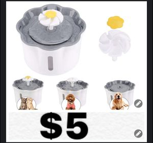 Brand new big pet water fountain for Sale in Southwest Ranches, FL