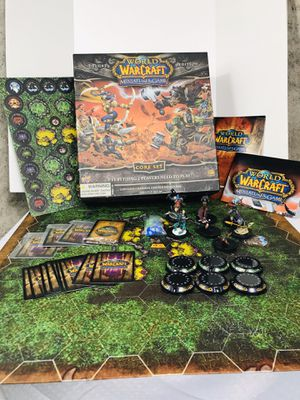 2008 World of Warcraft Miniatures Deluxe Edition Core Set for Sale in Pawtucket, RI