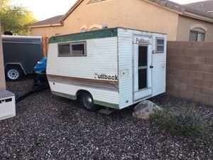 70's Fullback Camper Trailer for Sale in Chandler, AZ