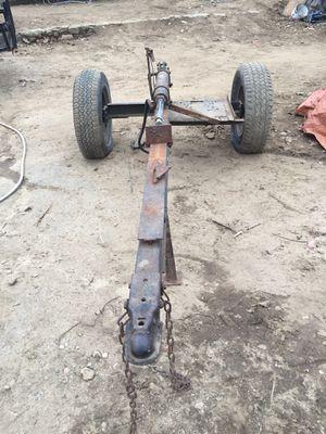 Log splitter needs motor and tires 100$ for Sale in Gardner, MA
