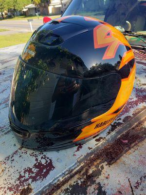 HARLEY DAVIDSON MOTORCYCLE HELMET SIZE LARGE L BEST OFFER for Sale in Holiday, FL