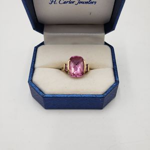 Pink Ice and Gold Ring for Sale in Aurora, CO