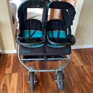 Baby Trend Navigator Double Jogger Stroller, Tropic for Sale in Las Vegas, NV