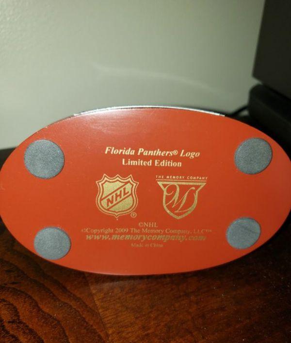 Florida Panthers NHL logo limited Edition