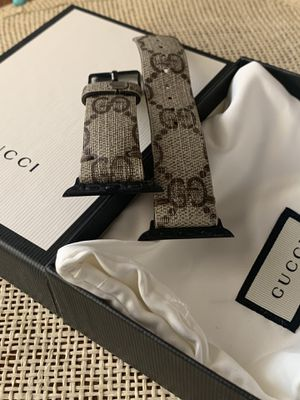 Custom Gucci Watch (Apple-watch Band). for Sale in Northbrook, IL