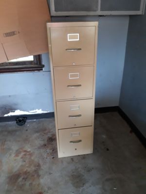 Metal filing cabinet for Sale in Grafton, OH