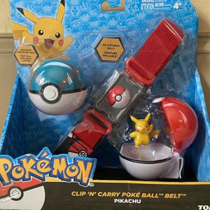 "Pokemon Clip 'N' Carry Poke Ball ""Belt"" Set for Sale in North Augusta, SC"