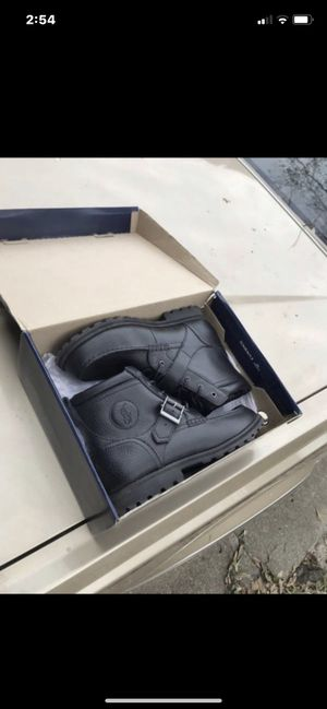 Black polo boots for Sale in Houston, TX