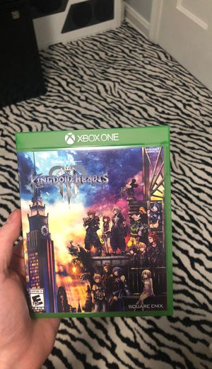 Kingdom Hearts 3 (XBOX) for Sale in Cleveland, OH