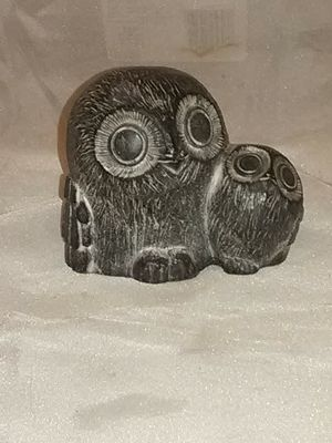 Hand made owl statue by the artist Wolf from Canada for Sale in Wichita, KS