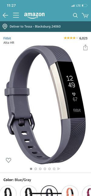 Fitbit Alta HR for Sale in Blacksburg, VA