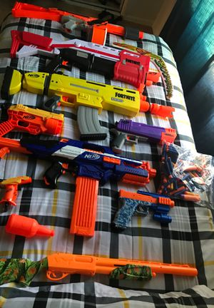 All sorts of Fortnite nerf guns and nerf guns for Sale in Tolleson, AZ