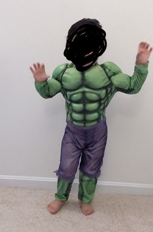 Hulk costume (size 3) for Sale in Gaithersburg, MD