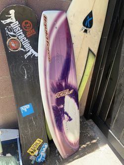 Wakeboard and 2 snowboards surfboard for Sale in Los Angeles,  CA