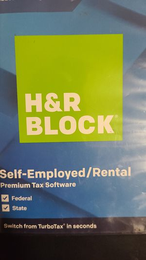 H&R Block self employed taxes PREMIUM EDITION for Sale in Largo, FL