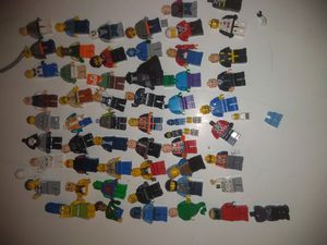 50 plus minifigures plus parts for Sale in Virginia Beach, VA