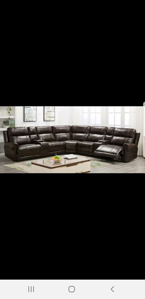 New Large Brown Recliner Sectional for Sale in Austin, TX
