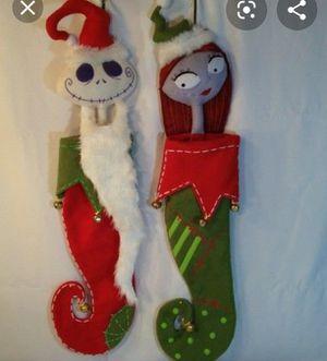 Nightmare Before Christmas Stockings for Sale in Fullerton, CA