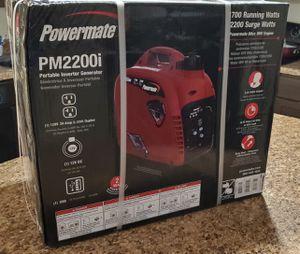 New! Powermate Generator Inverter PM2200i for Sale in Lutz, FL