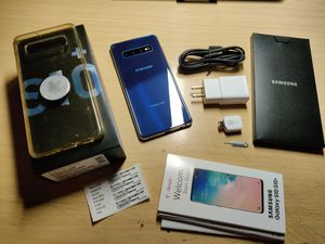 Samsung Galaxy S10 Plus (S10+) Prism Blue for Sale in Fontana, CA