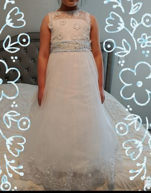 Flower girl dress/ first communion/ Christening/ Baptism dress for Sale in Peoria, AZ