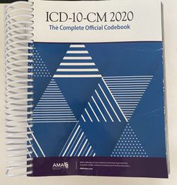 Medical Coding Books ICD-10-CM & CPT 2020 EDITION for Sale in Naperville,  IL