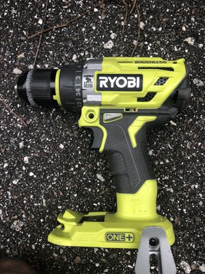 Ryobi P251 18-Volt 18V Li-Ion ONE+ Brushless Hammer Drill (Bare Tool Only) for Sale in St. Petersburg, FL