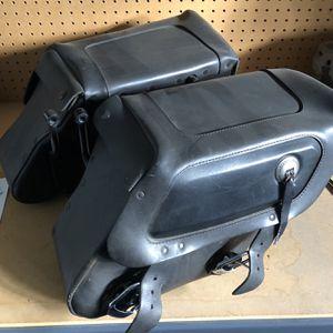 Original Harley Davidson Leather Saddlebags for Sale in Clovis, CA