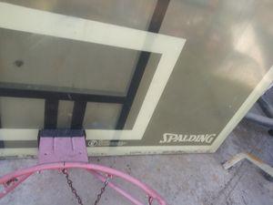 Basketball backboard and hoop for Sale in Huntington Beach, CA