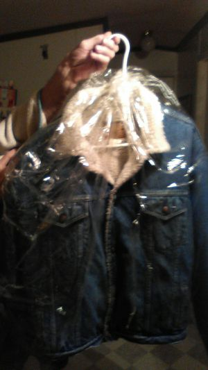 1969 LambsWool Levi Jean Jacket for Sale in Fairless Hills, PA