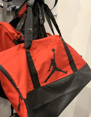 Red and black Jordan duffle for Sale in Bellmore, NY