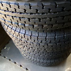 4 Trailer Tires Goodyear ST225/75R15 In Good Conditon! $160 for Sale in Bloomington, CA