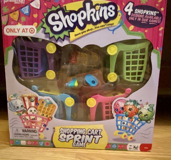 Shopkins games/holder