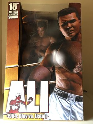 """18"""" Muhammad Ali Action Figure collectible for Sale in Irvington, NJ"""
